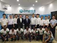 Chairman Xu paid a visit to Longrich Nigerian branch